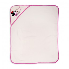 Little Sparks Baby Wrapping Sheet Minnie Pink
