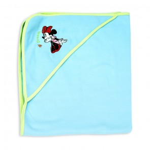 Little Sparks Baby Wrapping Sheet Minnie Blue