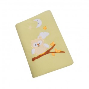 Little Sparks Baby Blanket Owl Yellow