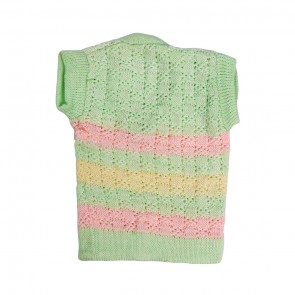 Little Sparks Baby Sleeveless Sweater Green (0-3 Months)