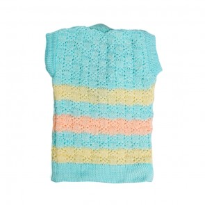 Little Sparks Baby Sleeveless Sweater Blue (0-3 Months)