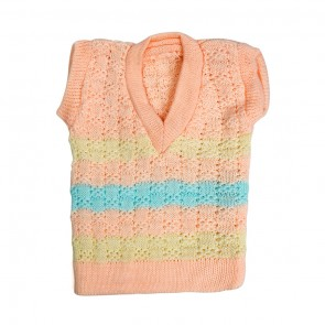 Little Sparks Baby Sleeveless Sweater Pink (0-3 Months)