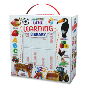 Little Learning Library White 12 in 1