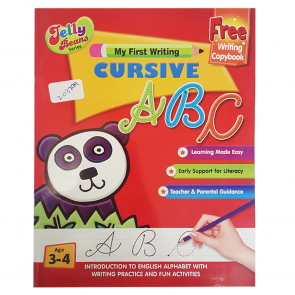 Jelly Beans Wipe Clean ABC Cursive