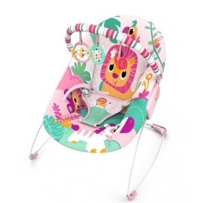 Mastela Music & Soothe Bouncer Pink