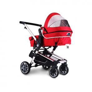 Little Tikes Baby Stroller Red & Grey
