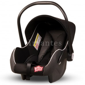 Bright Starts Baby Carry Dots Black