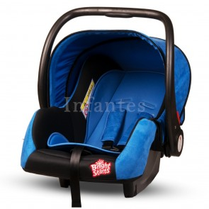 Bright Starts Baby Carry Cot Black & Blue
