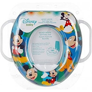 Infantes Baby Printed Toilet Seat Mickey Mouse