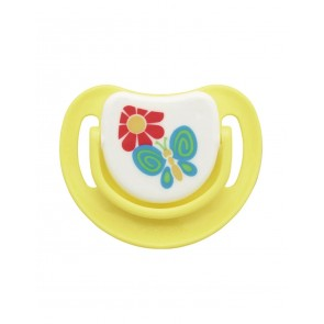 PIGEON SILICONE PACIFIER STEP 3 (YELLOW)