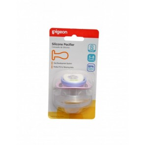 PIGEON SILICONE PACIFIER STEP 2 (PURPLE)