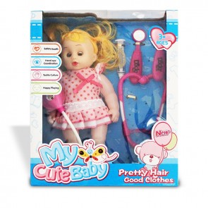 Playmax My Cute Music Doll