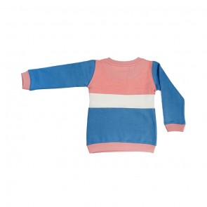 Smart Angels SWEATSHIRT BLUE PINK PENAL