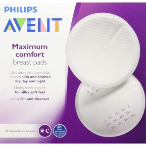 Avent Disposable Breast Pads Pk60 (Day).