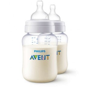 Avent PA Classic+ Feeding Bottle 260ML pk2