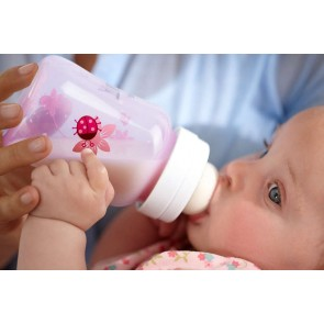 Avent Classic+ PP Deco Bottle 260ml PK2 Pink