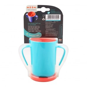 Tommee Tippee 360 DECO TRAINER CUP - TEAL