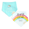 Little Star Bandana Bib Pack Of 2 Mama & Me