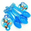 Little Sparks Birthday Spoon Set Mickey Mouse Blue
