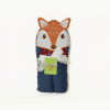 Little Star Character Hooded Bath Towel Fox