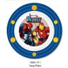 "Marvel Heroes 3 9"" Soup Plate"