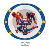 "Marvel Heroes 3 7.5"" Oval Bowl"