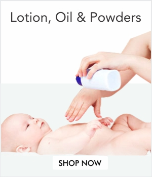 Baby Lotion, Oil & Powder